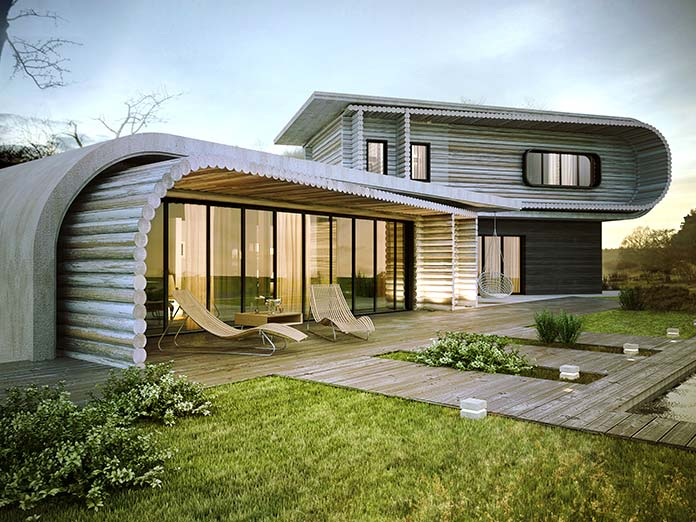 Refugios ecológicos: S-House, Ucrania