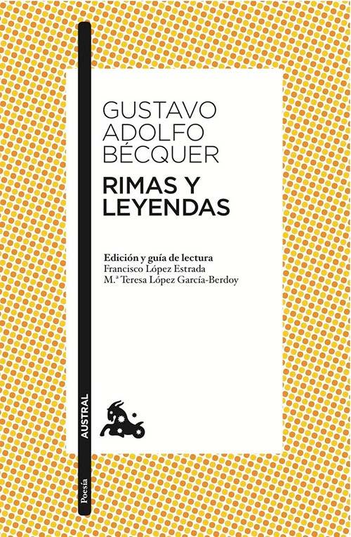 """Libro """"Rimas y leyendas"""", Gustavo Adolfo Bécquer"""
