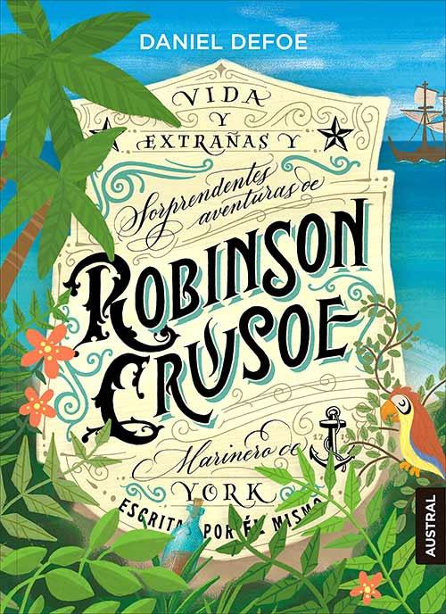 """""""Robinson Crusoe"""", de Daniel Defoe"""