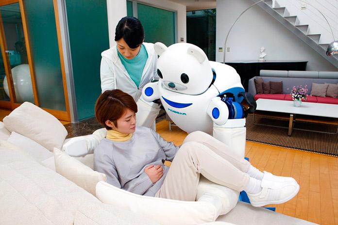 Robot asistente y enfermero Robear