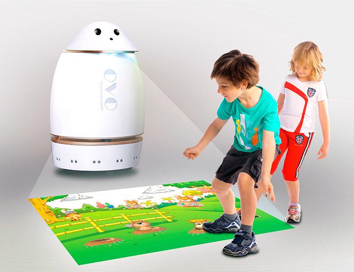 Robot de compañía Danovo, de OVO Technology, que hace del aprendizaje algo divertido para los niños