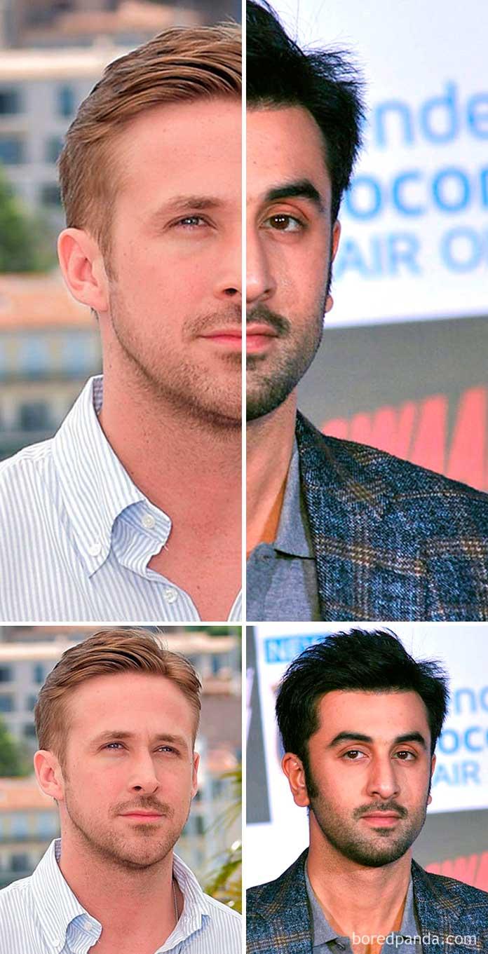 Ryan Gosling - Ranbir Kapoor