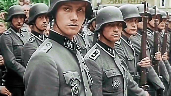 Escuadrón nazi de las SS.