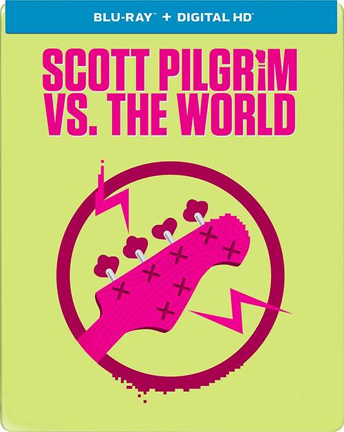 DVD que incluye 'Scott Pilgrim vs. The Animation'