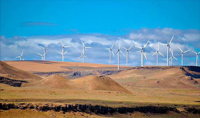 Parque eólico Shepherds Flat