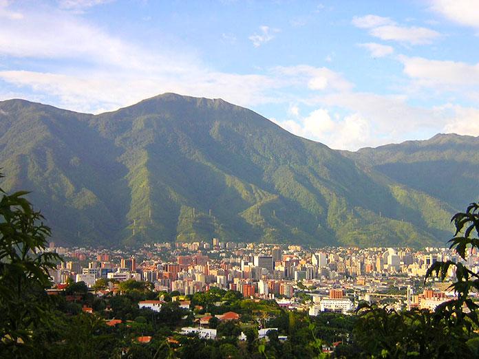 Vista de la Silla de Caracas