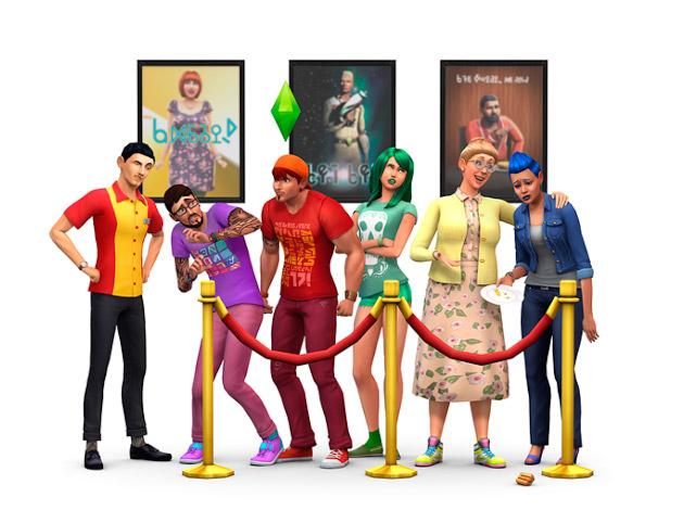 Sims 4:Nuevos decorados
