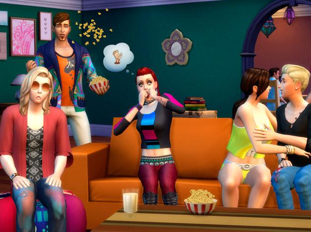 Sims 4: películas distintas para elegir
