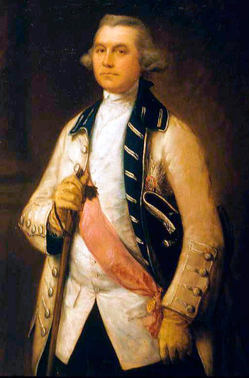 Sir William Draper, 1765