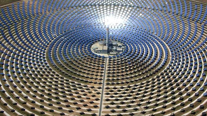 Soluciones para el efecto invernadero: Poder solar concentrado