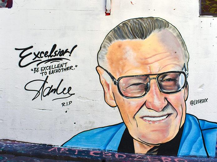 Stan Lee grafiti