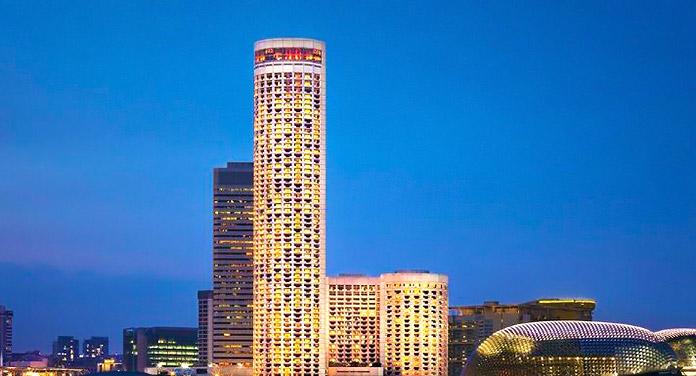 Swissôtel The Stamford, en Singapur, Singapur