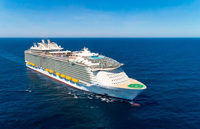 Symphony of the Seas, el crucero más grande jamás construido.