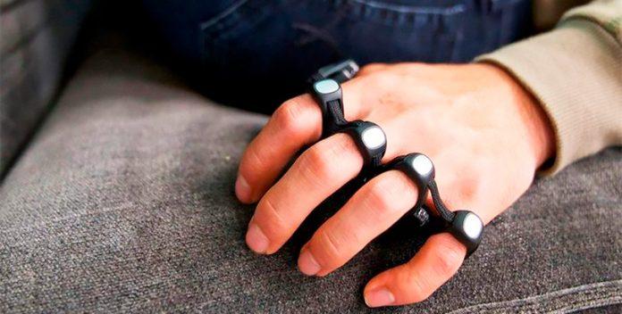 TAP: La tecnología que convierte la mano del usuario en un teclado.