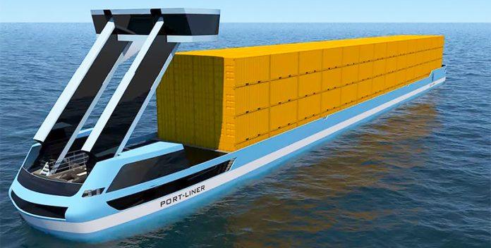 Tesla dei Canales: Primeros barcos portacontenedores eléctricos.