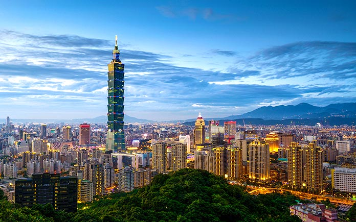 Taipei 101, Taipéi.
