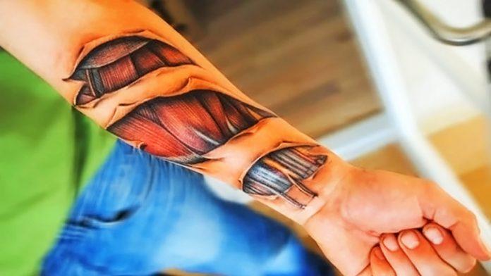 Tatuajes 3D: escalofriantes diseños con vida propia
