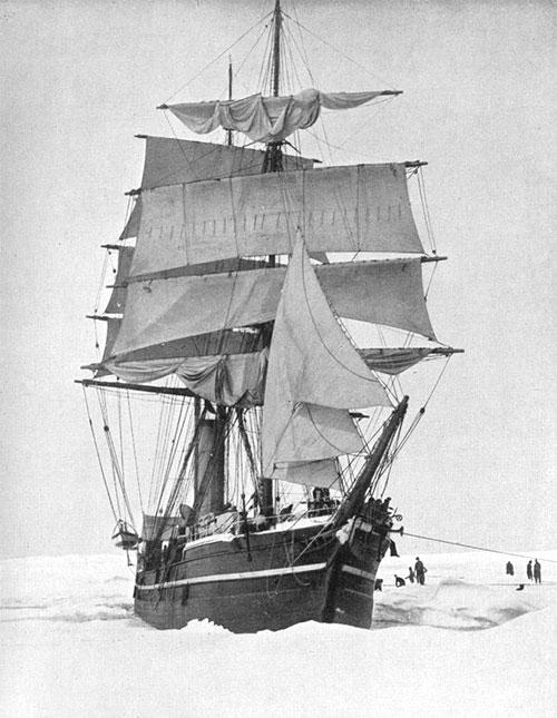 El Terranova en el Polo Sur
