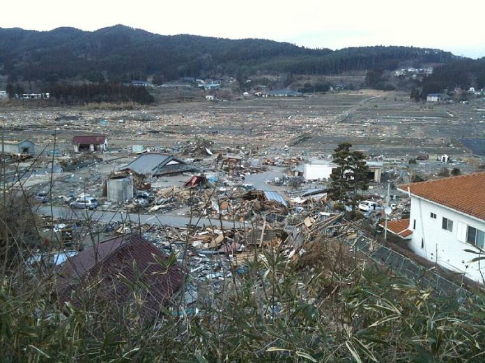 Terremoto Japón + Devastación en Rikuzentakata después del tsunami