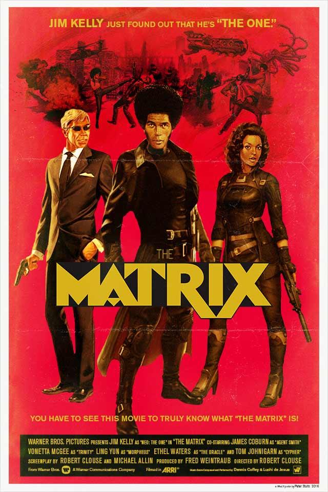 """Cartel de """"The Matrix"""" (1975)"""