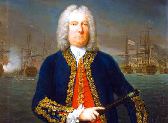 Almirante británico Thomas Matthews
