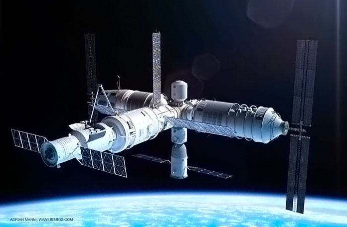 China lanza su tercera estación espacial
