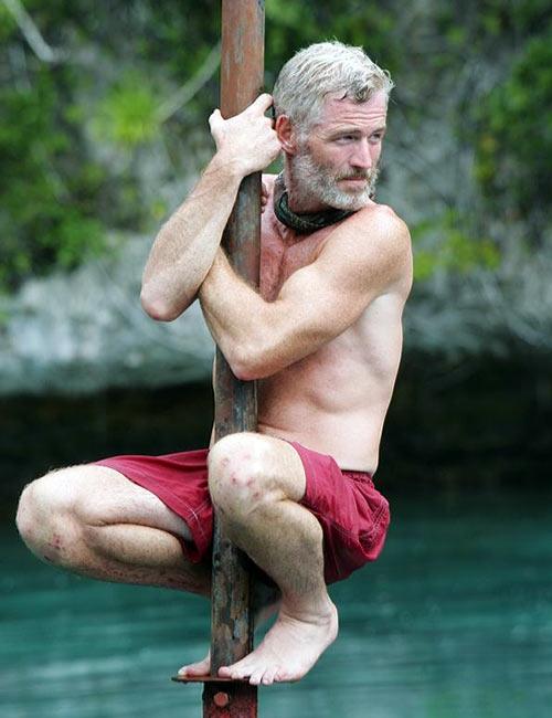 """Programas más extremos de la TV - Tom Westman en """"Survivor"""""""