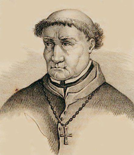 Ilustración de Tomás de Torquemada.
