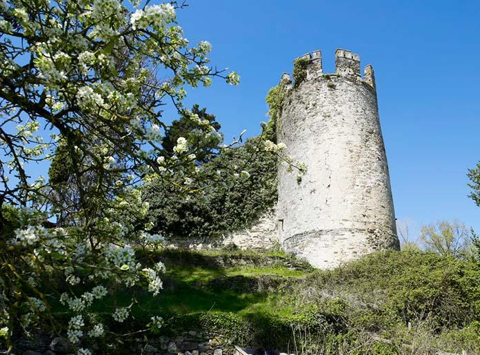 Torre da Fortaleza de Sarria (Lugo)