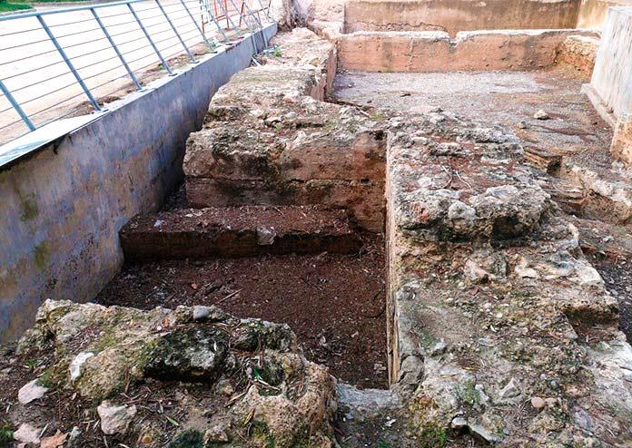 Restos actuales de la torre de la Reina