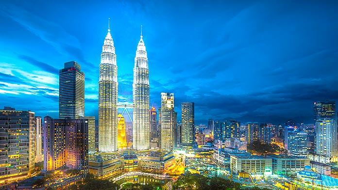 Torres Petronas, Kuala Lumpur, Malasia.