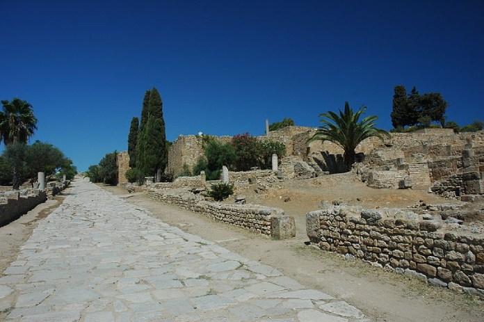 Ruinas de Cartago en Túnez