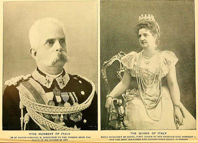 Umberto I de Italia y Margherita de Savoy