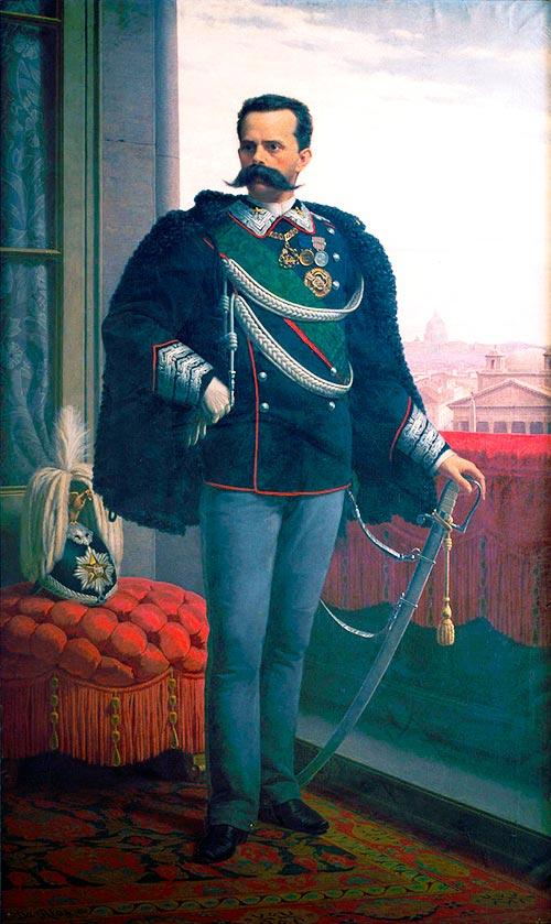Coincidencias espeluznantes - Retrato de Umberto I
