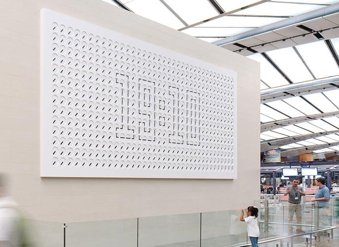 """""""Un millón de tiempos"""", aeropuerto de Changi"""
