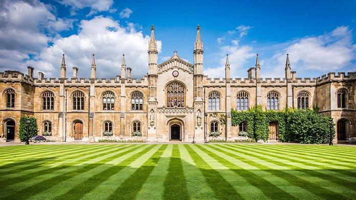 Universidades más antiguas de Europa: Universidad de Cambridge