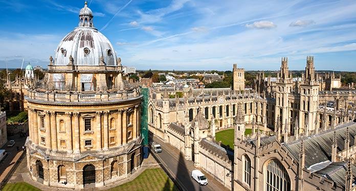 Universidades más antiguas de Europa: Universidad de Oxford