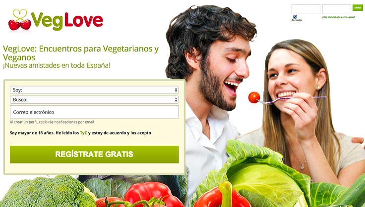 Apps para ligar con veggies - VegLove