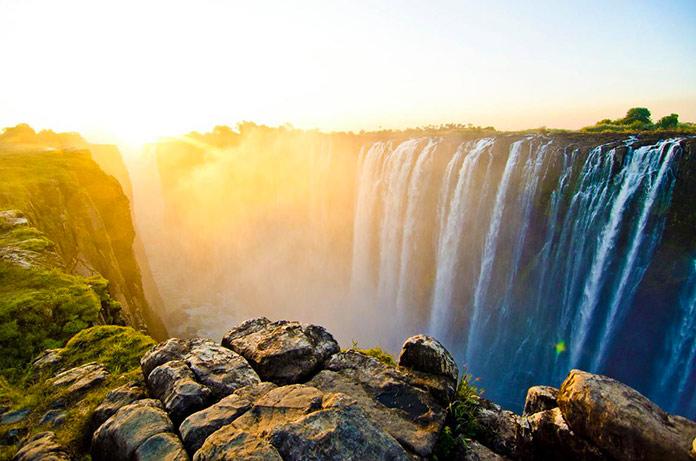 Victoria Falls, Zimbabwe y Zambia