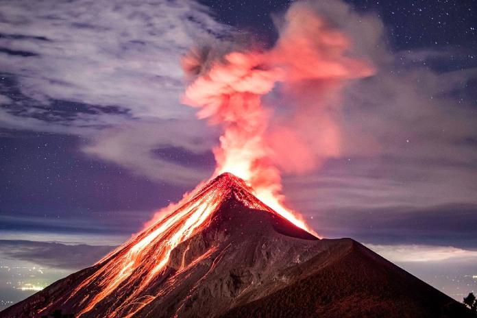 Volcanes-Activos-Volcan-De-Fuego