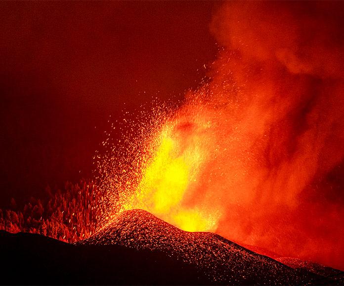 Volcanes activos: Volcán de La Palma, 2021