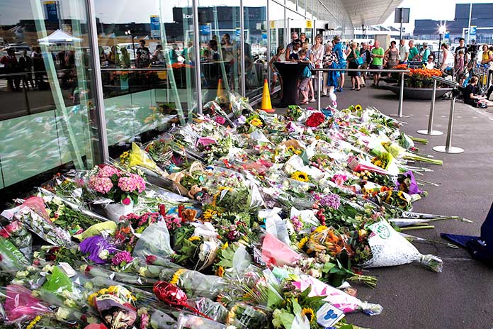 uelo Memorial del vuelo MH17 de Malaysia Airlines