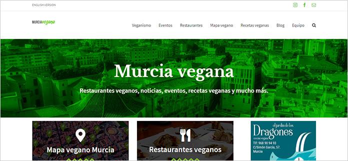 Web Murcia Vegana