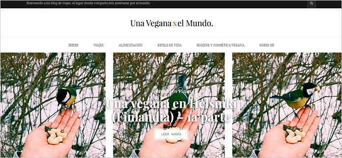 Web Una Vegana por el Mundo