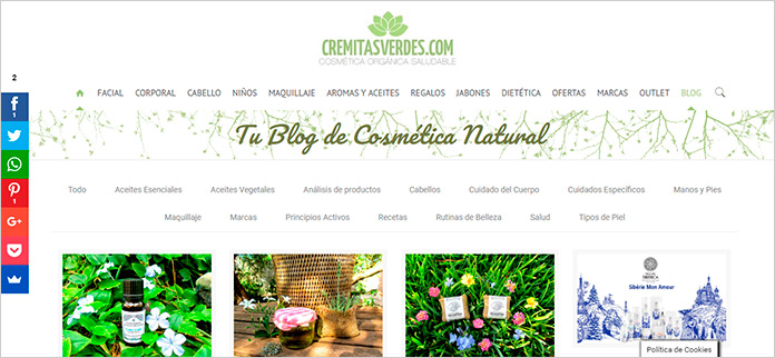 Web Cremitasverdes