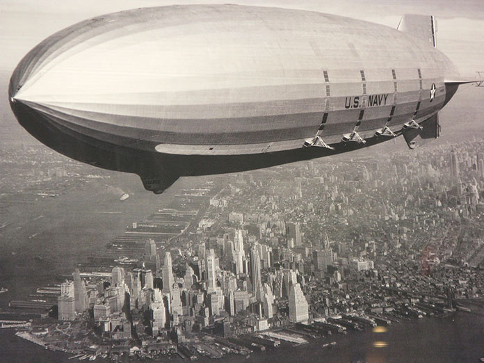 Zepplin en la Primera Guerra Mundial - Zeppelin deUS navi