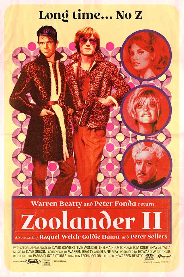 """Cartel de """"Zoolander 2"""" (1973)"""