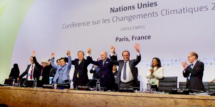Reunión del acuerdo de París