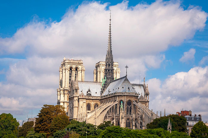 Aguja de la Catedral de Notre Dame