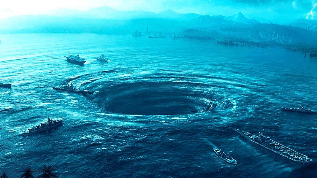 Los científicos captan por primera vez un agujero negro oceánico